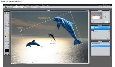 Trabalhando com transparências no Pixlr