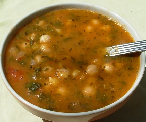 From Kirsten's Kitchen to Yours: Chick Pea Soup with Thyme