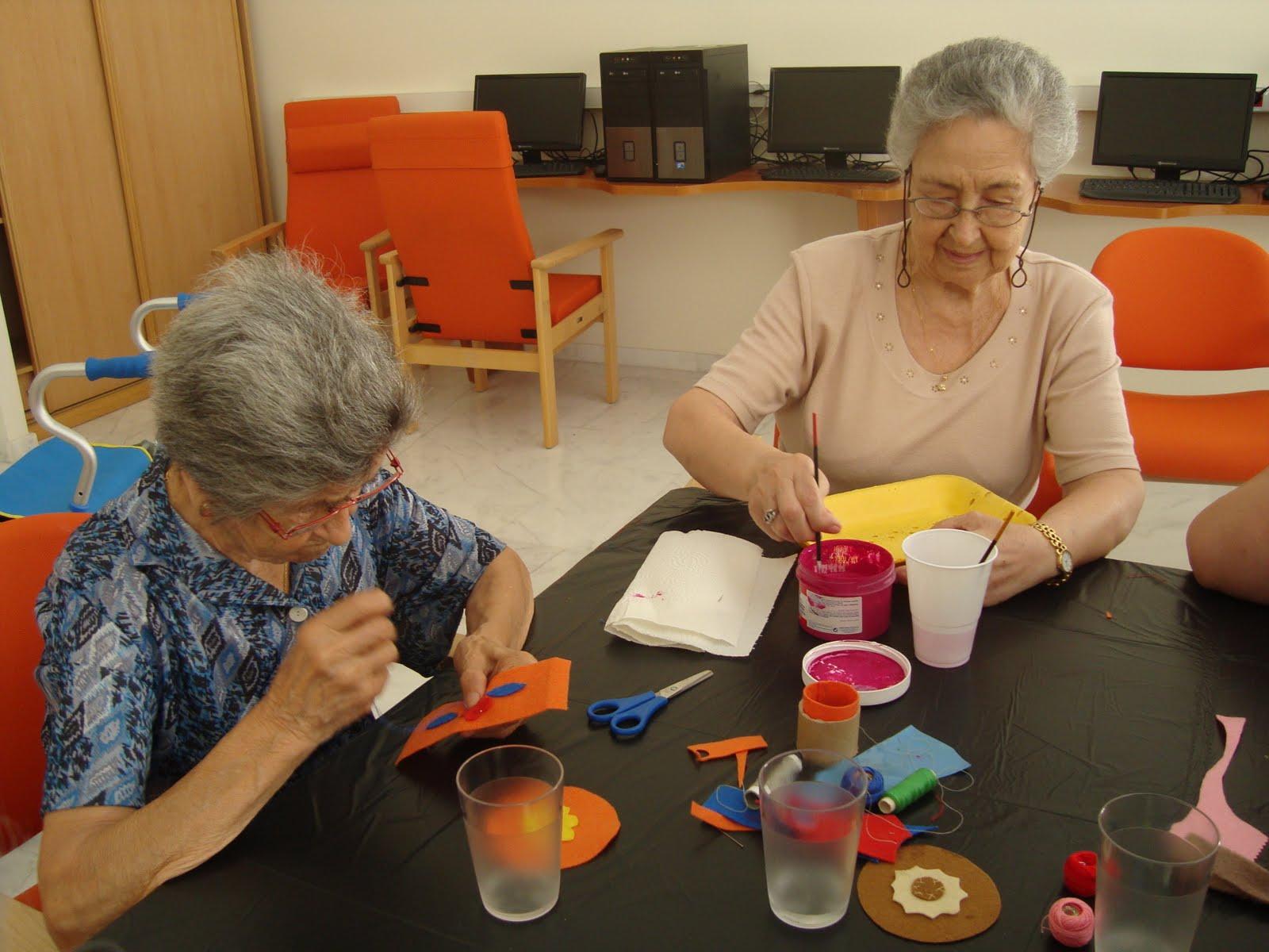 Ued para personas mayores azahara comenzamos el taller de - Talleres manualidades para adultos ...