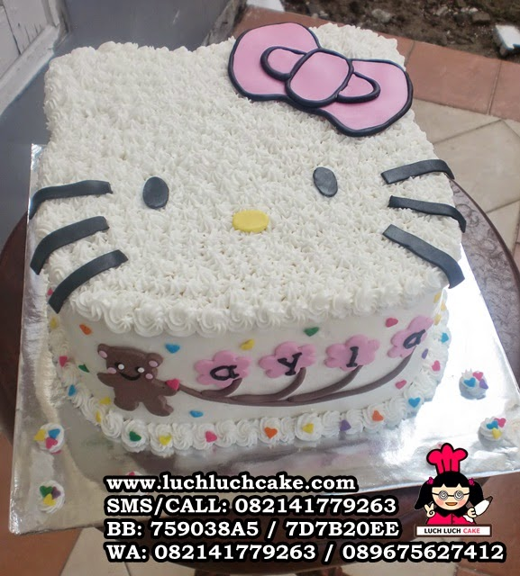 kue tart hello kitty cute