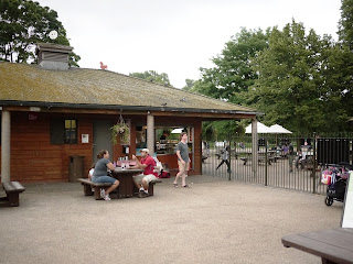 Snack area at Princess Diana Memorial Playground