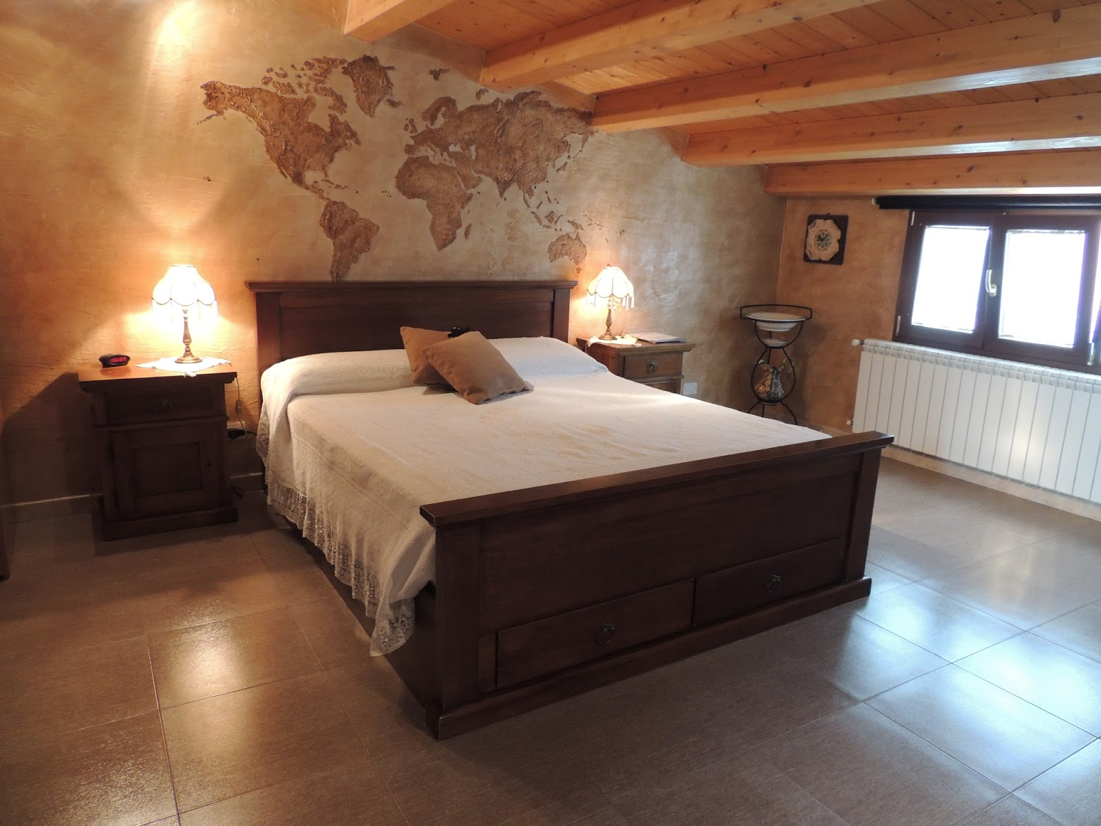 Eco bed and breakfast l 39 abbraccio - Camera da letto etnica ...
