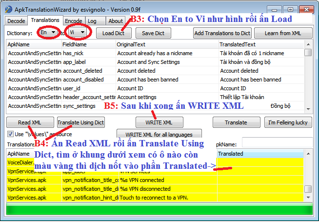 Buoc3 4 Hướng dẫn Việt Hóa Rom cho Android