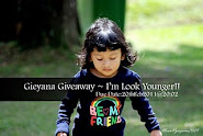 Gieyana Giveaway ~ I'm Look Younger!