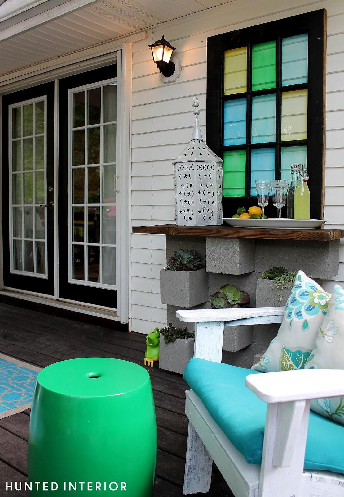 DIY Outdoor Bar and Planter Video