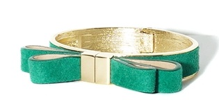 Emerald Bow Bracelet