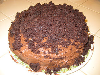 Ebinger's Chocolate Blackout Cake made in my kitchen
