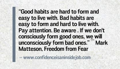 Good habit quote