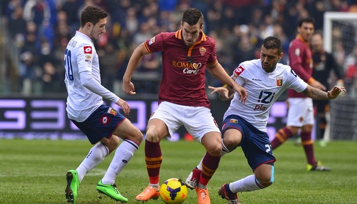 Roma vs Genoa en vivo
