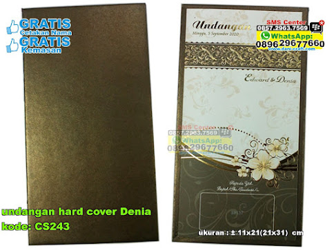 Undangan Hard Cover Denia