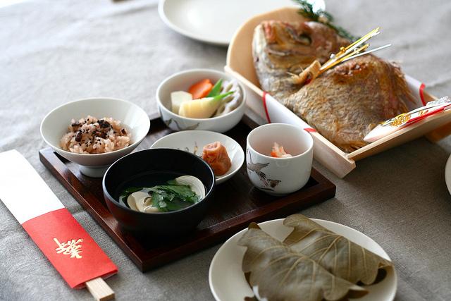 Okuizome, el ritual del primer alimento