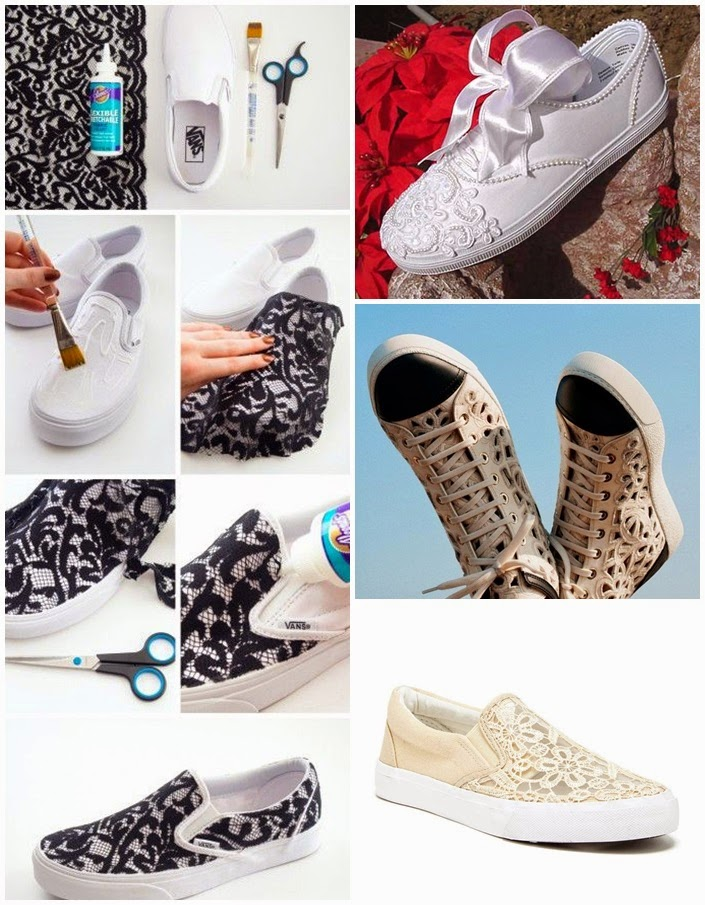 Como reformular costumizar uns  loafers brancos