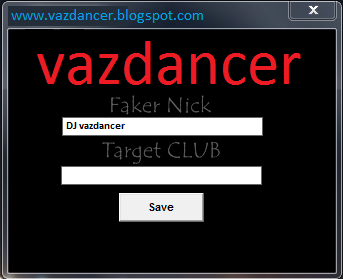 Cheat Fake Nick Club AyoDance Free V6119 vazdancer