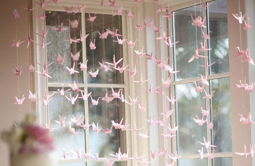 Bárbara Kohls The Cherry Tale Origami na decoração ~ Quarto Reggae Tumblr