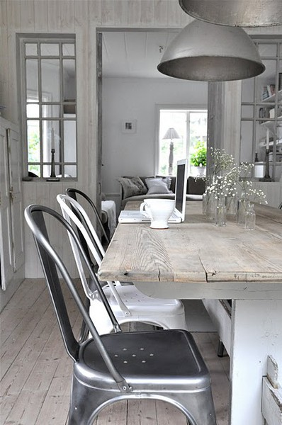 At Rivercrest Cottage: Industrial French Country