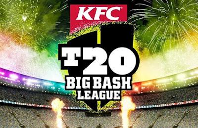 Big Bash Ladder 2015 - 16