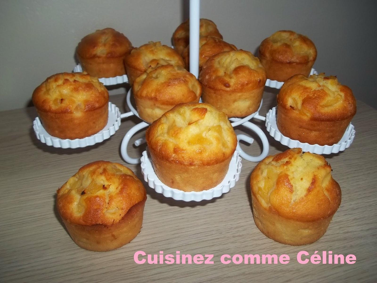 cuisinezcommec line muffins aux pommes. Black Bedroom Furniture Sets. Home Design Ideas