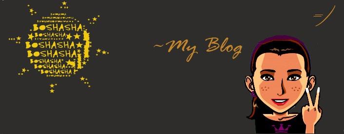 Boshasha's Blog