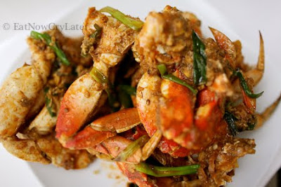 Eat Now Cry Later: Lemongrass and Ginger Stir Fried Crab(Cha Kdam)