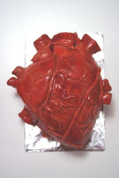 Bolo de Coração Humano