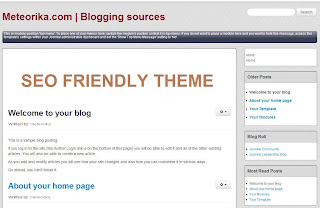 Tips Memilih Template Blog Yang SEO Friendly