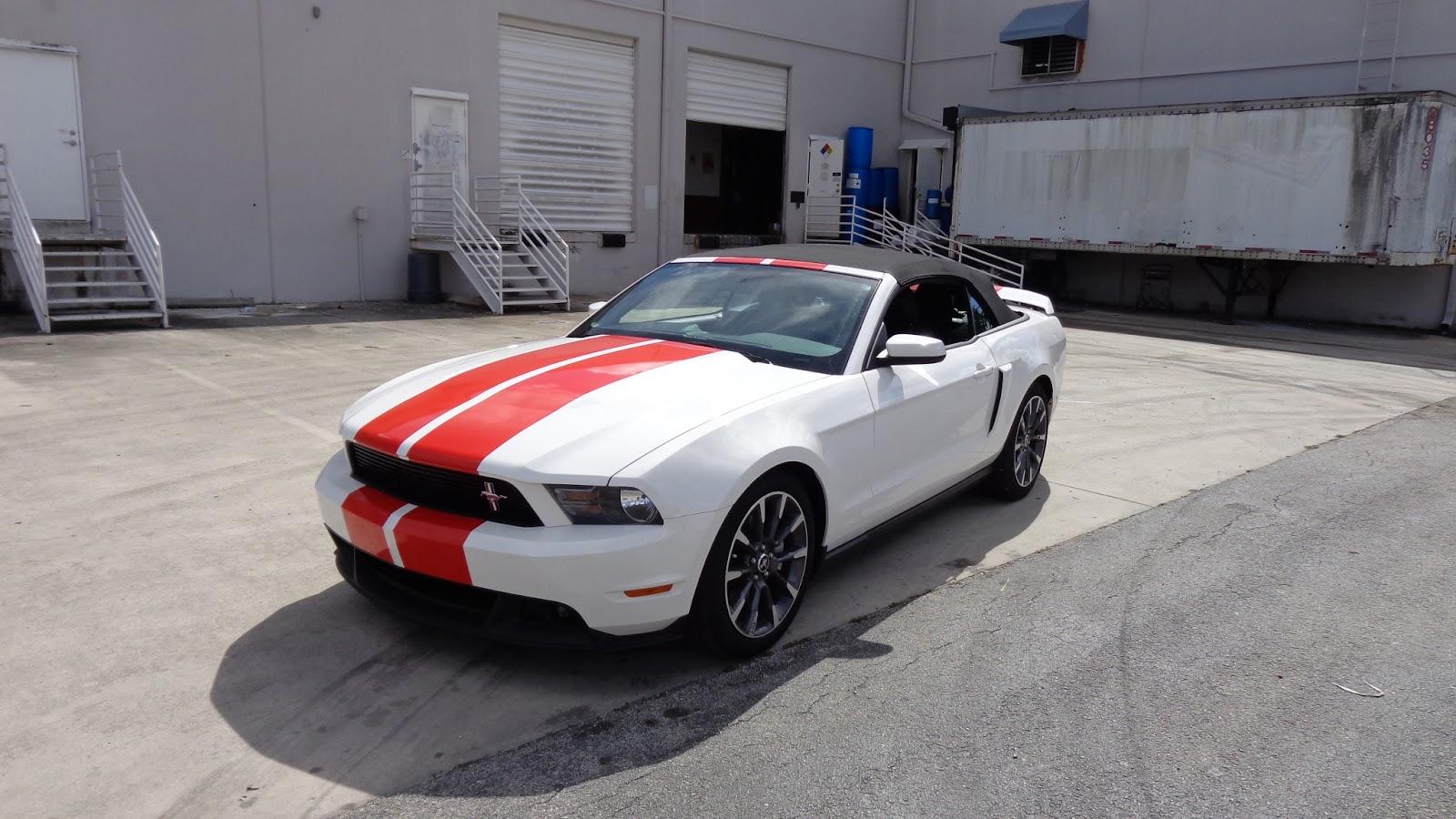 Mustang Racing Stripes Fort Lauderdale Florida