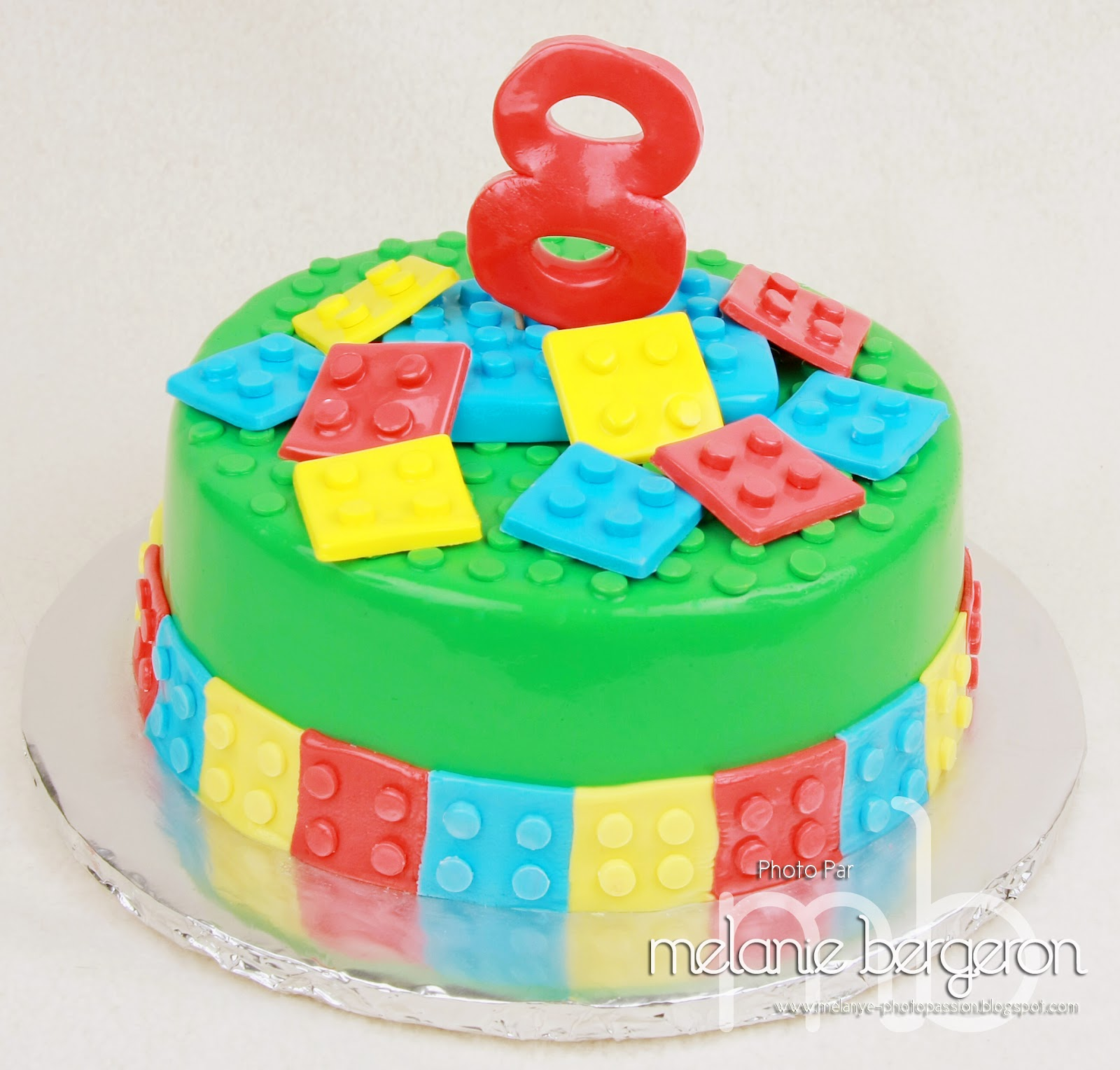 Rose Sucré: Gâteau Lego