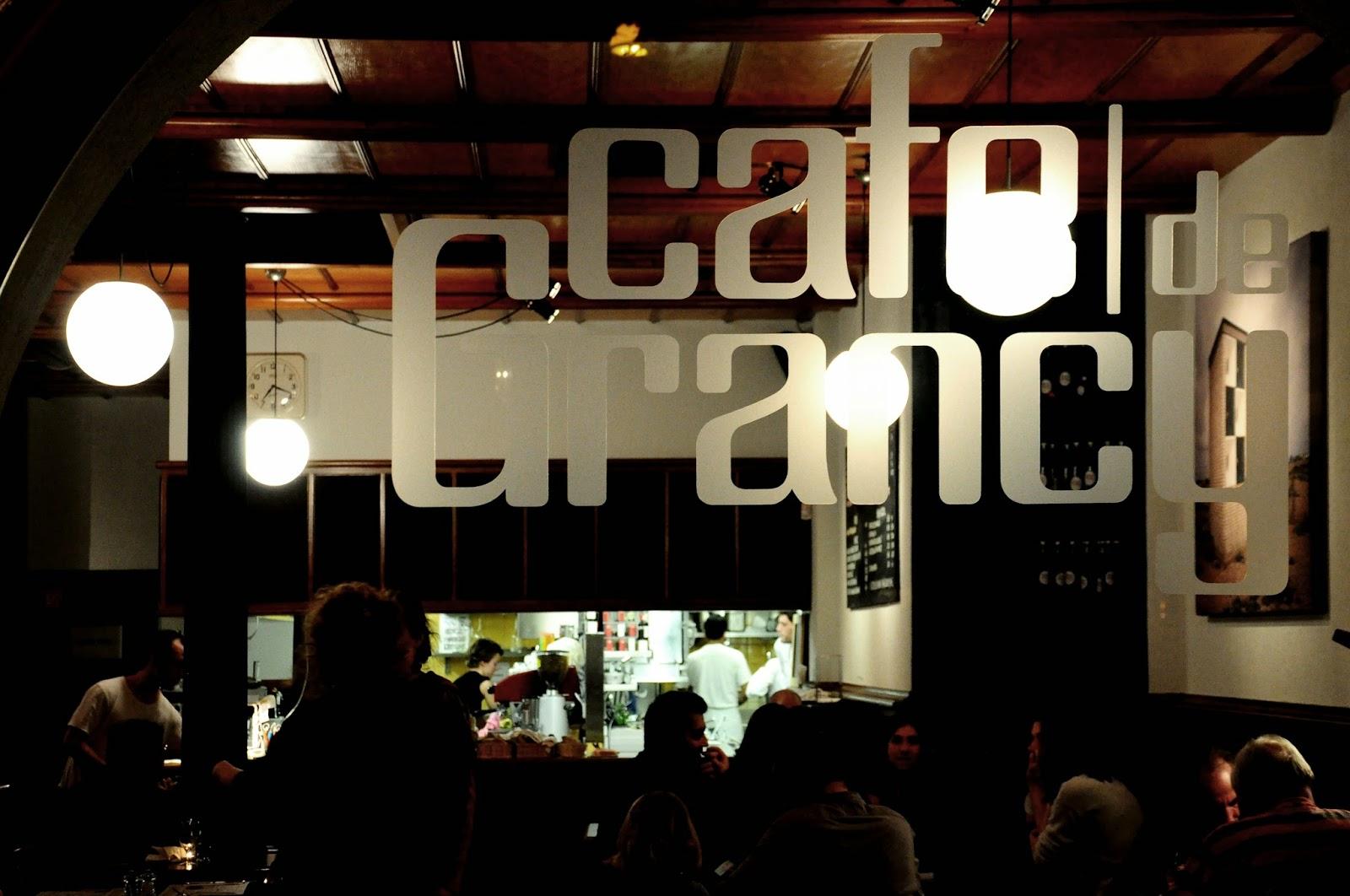 cafe de grancy reserver