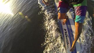 Go Pro Hero 3 Black Edition Courts Dawn Patrol Wavestorm Softtop Surfboard