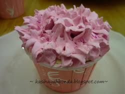 Pink Faux Cupcake
