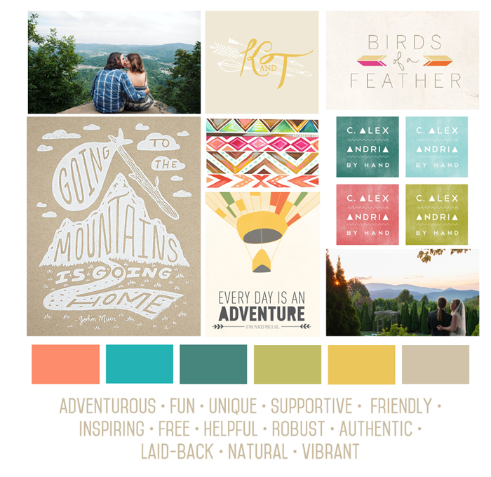 Boone Bride Guide | Wedding Planning Resource | Moodboard | Inspiration