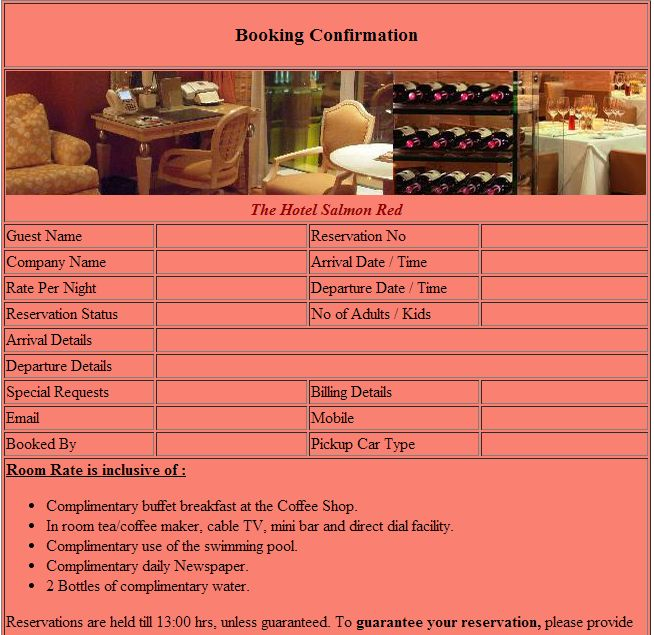 Official Blog Of Www.Setupmyhotel.Com ©: Hotel Reservation