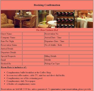 Official blog of hotel reservation for Reservation hotel