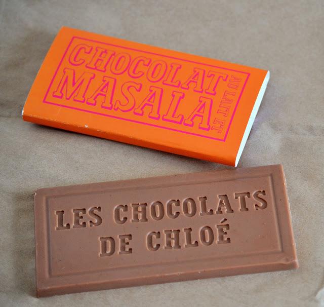Chocolat au lait et épices Massala