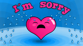 im sorry corazon llorando