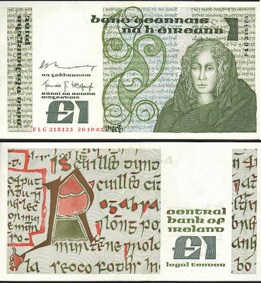 Repubblica d'Irlanda 1 Pound 1981 P# 70b
