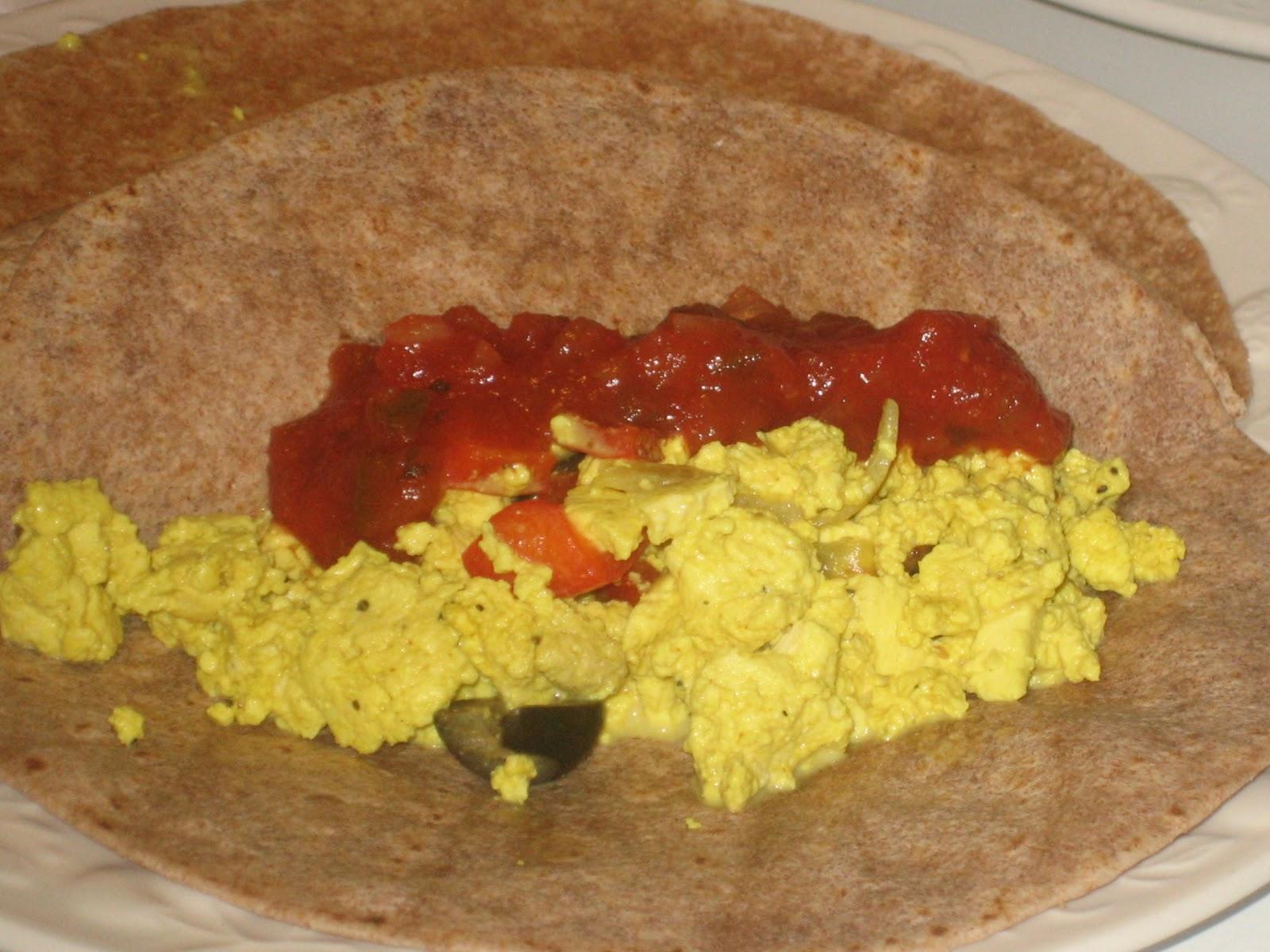 stuffedveggies: Scrambled Tofu Pantry Mix & Vegan Breakfast Burritos