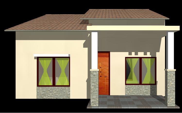 kita akan mencoba membuat rumah 3d dengan denah rumah dan tampilan ...