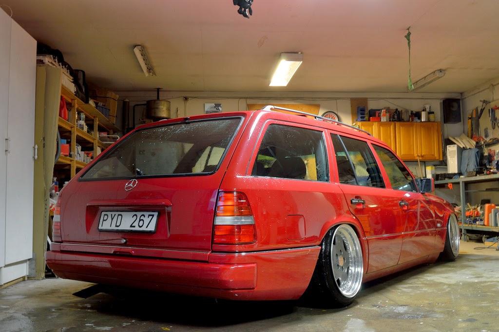 Mercedes Benz Wagon Stance
