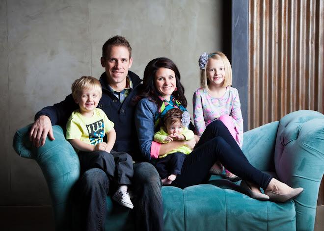 Spencer, Stephanie, Sofie, Luke and Rubi