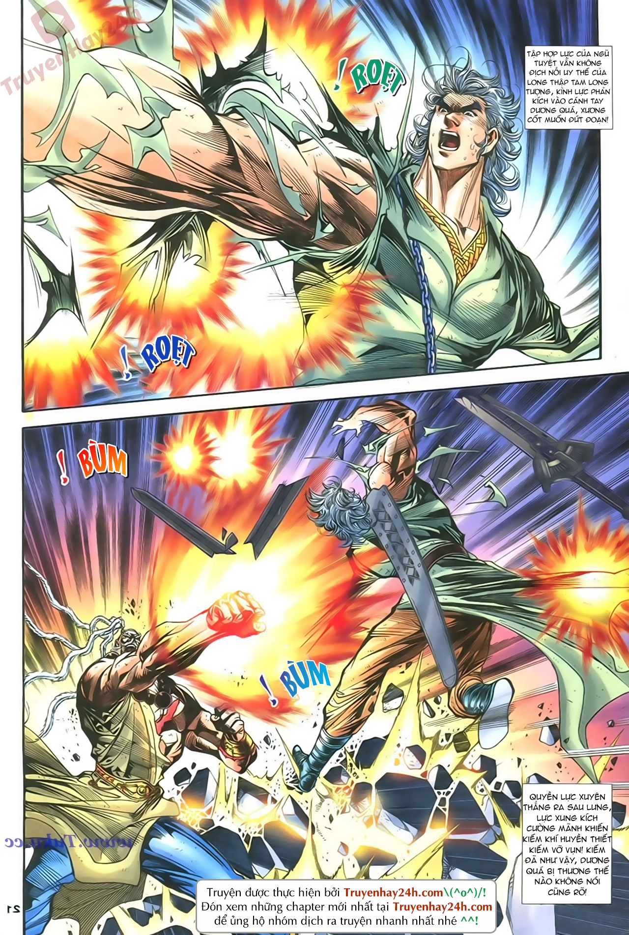 Thần Điêu Hiệp Lữ chap 86 – End Trang 21 - Mangak.info