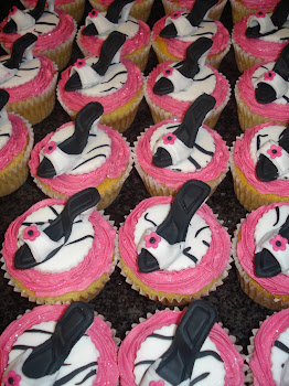 High Heel cupcakes