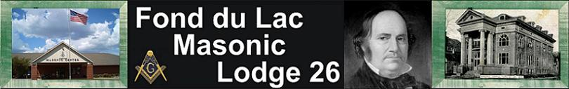 Fond du Lac Masonic Lodge 26
