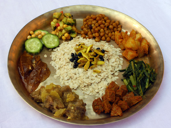 Top ten newari food you must try best newa cuisine for Cuisine of nepal