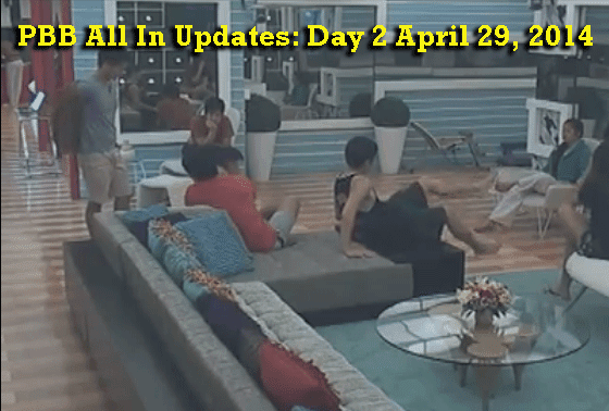 PBB All In Updates: Day 2 April 29, 2014