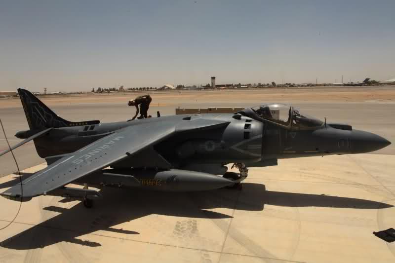 US Marine Corps AV-8B Harriers in Afghanistan   Global ...