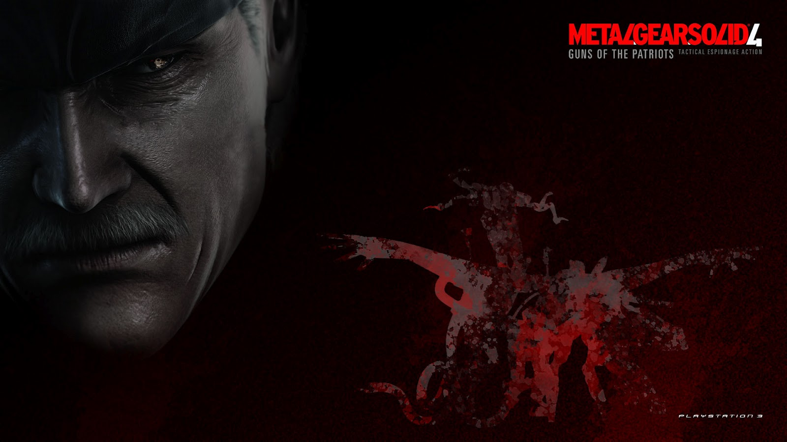 metal+gear+solid+4+wallpaper+1 Metal Gear Solid 4: Guns of the Patriots Wallpapers in HD