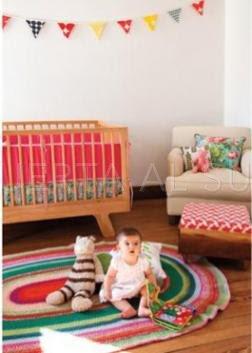 Puerta al sur tips para decorar el cuarto del bebe reci n - Alfombras habitacion bebe ...