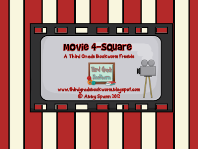 https://www.teacherspayteachers.com/Product/Movie-4-Squares-for-Elementary-Students-369597