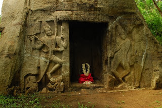 8th Century Vizhinjam Rock Cut Cave Temple in Thiruvananthapuram Kerala